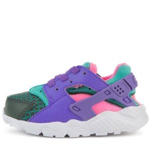 Nike HUARACHE Outdoor green and grape